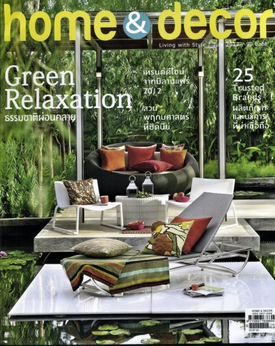 Thai Company Deesawat Is Featured In Home Decor Magazine Mythaidesign