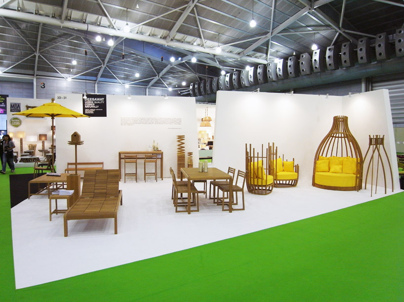 Deesawat shines at tiff 2012 and iffs with outdoor for Outdoor furniture thailand bangkok