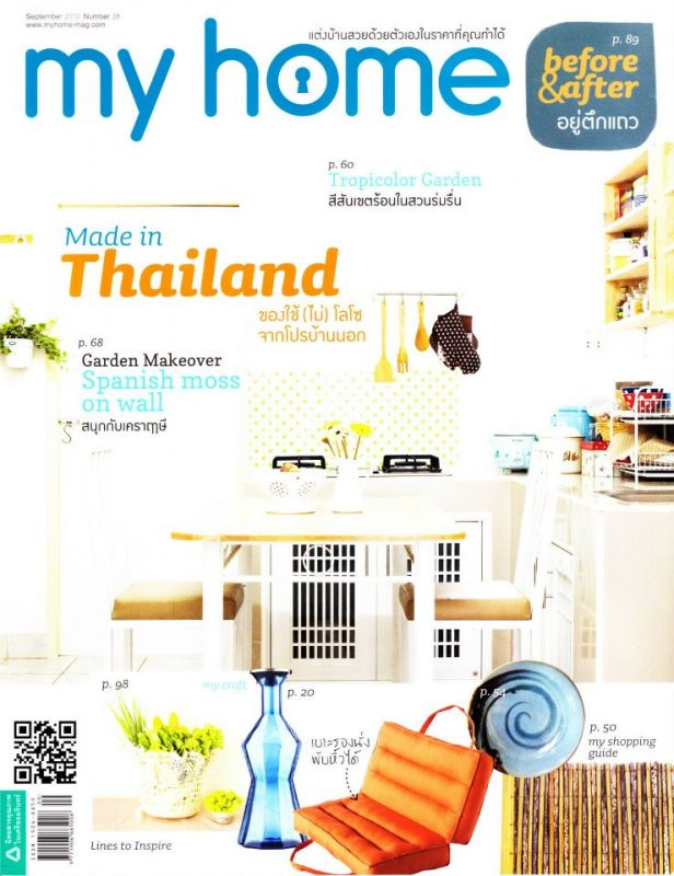 Corner 43 Decor In The Press In My Home Thailand Magazine